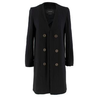 Isabel Marant Black Knit Longline Cardigan