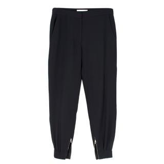 Vanessa Bruno Black Cuffed Pants