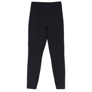 Alexander Wang Black Wool blend Slim Fit Trousers