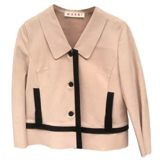 Marni Nude Soft Leather jacket