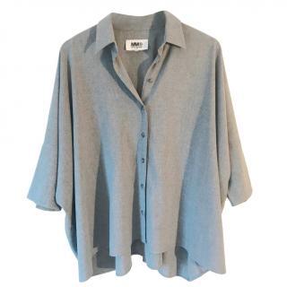 MM6 Maison Margiela Grey Blouse