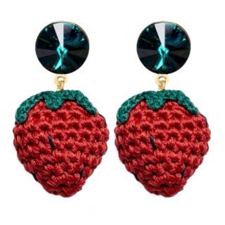 Venessa Arizaga Berry Cute Earrings