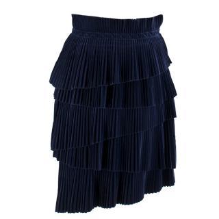 Marco de Vincenzo tiered velvet Skirt
