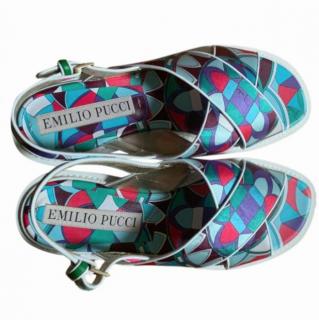 Emilio Pucci Printed Sandals
