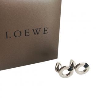 Loewe Round Studded Logo Cufflinks
