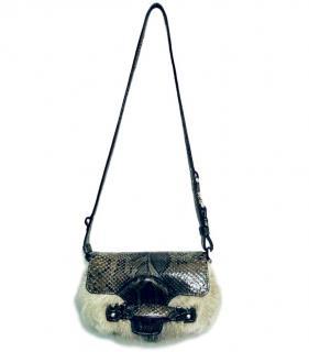 Tom's grey mink cross body/shoulder bag