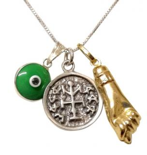 Talismanic good luck charm necklace