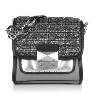 Karl Lagerfeld K/Kuilted Tweed Crossbody Bag