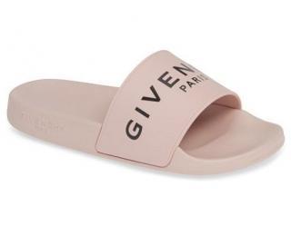 Givenchy nude logo slides