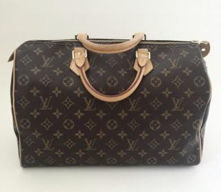 Louis Vuitton Monogram Speedy 35 Bag