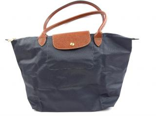 Longchamp Dark Grey Le Pliage Tote
