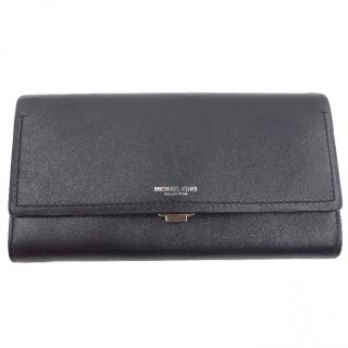 MIchael Kors Collection Black Leather Wallet