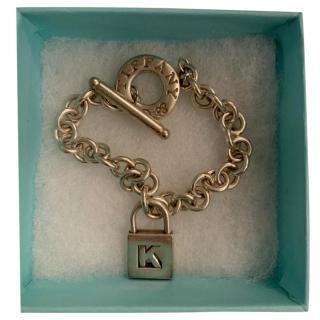 Tiffany & Co. K Lock Charm Bracelet