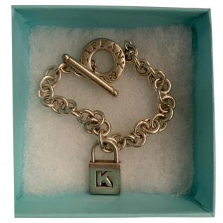 Tiffany & Co. K Lock Charm Bracelet