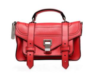 Proenza Schouler Red PS1 Mini Calf Leather Bag