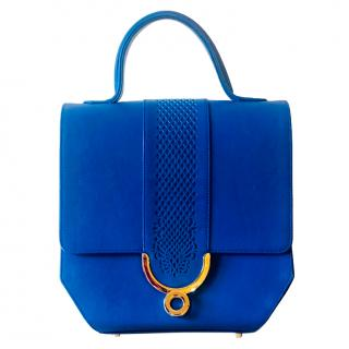 Ennigaldi Blue Kulitta Shoulder Bag