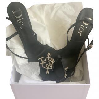 Dior Vintage I Heart Dior Sandals
