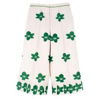 Alexis Pixy Floral Embroidered Culottes