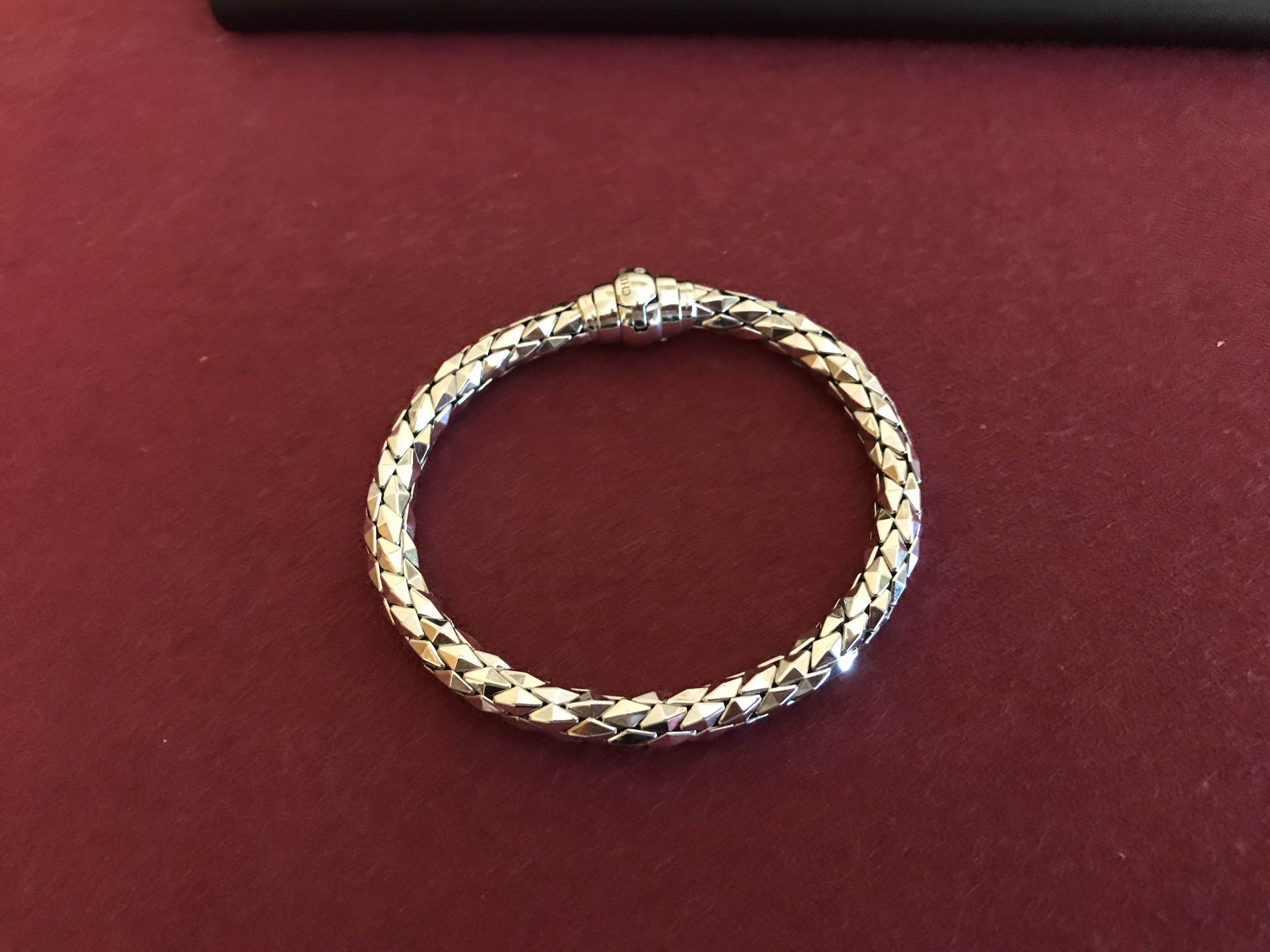 Chimento 18kt White Gold Bracelet