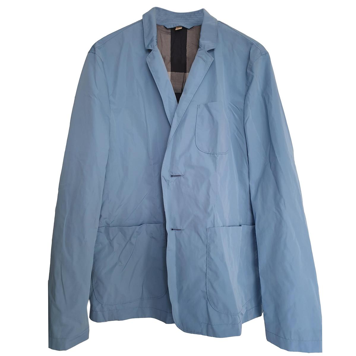 Burberry Brit blue rain jacket in a bag