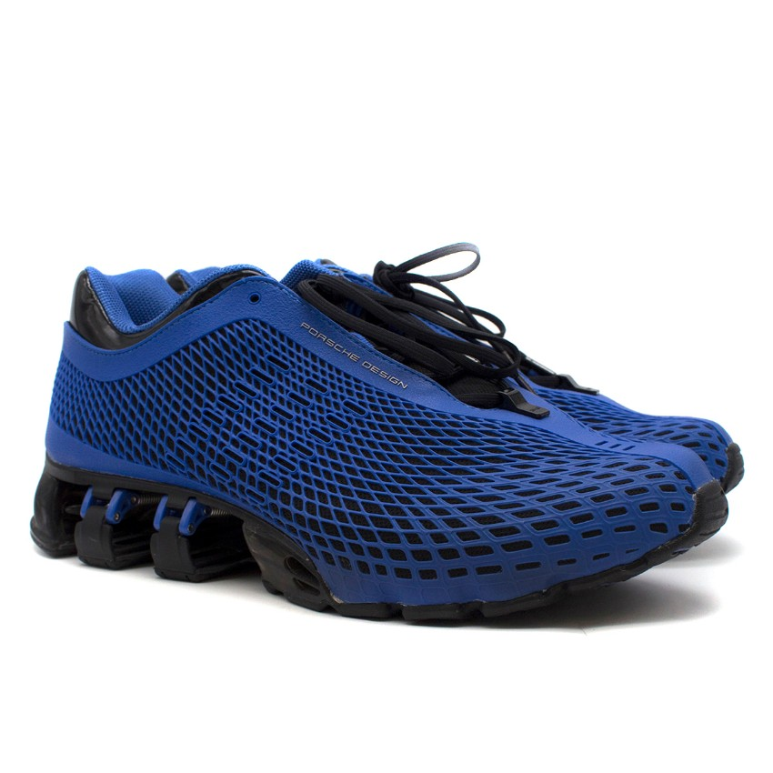 reputable site 25a43 39022 Adidas Porsche Design Bounce P5000 S3 Blue Trainers