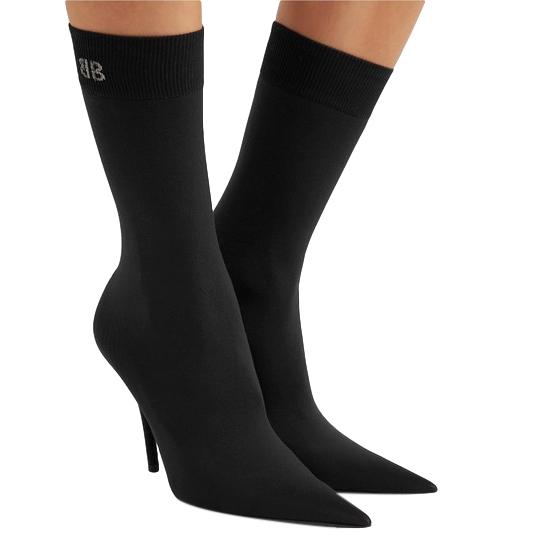 Balenciaga Stretch-jersey Sock Heeled Boots