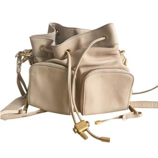 Badgley Mischka Nude Satchel Bag