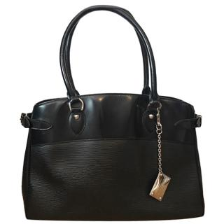 Louis Vuitton black Epi leather passy tote