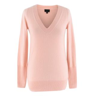 J Crew Pink Cashmere Knit Top