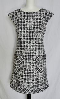 Chanel Tweed Boucle Camellia Dress