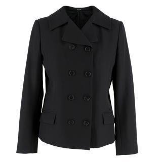 Maison Margiela Black Wool Double breasted Blazer