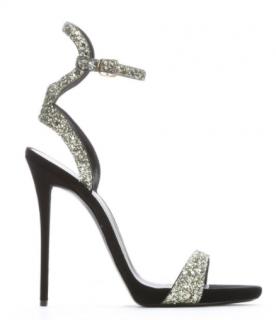 Giuseppe Zanotti Glitter 'Coline 110' Ankle Strap Stiletto Sandals