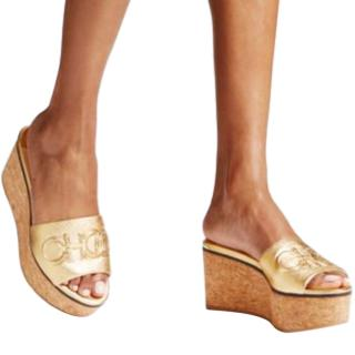 Jimmy Choo DeeDee 80 Cork Wedges