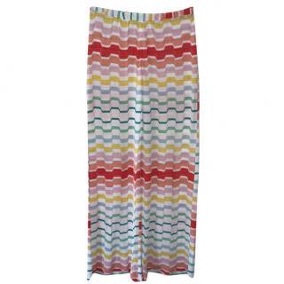 Missoni multicoloured palazzo trousers