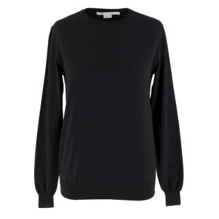 Stella McCartney Black Wool Jumper
