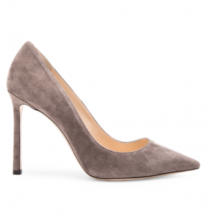 Jimmy Choo Suede Romy Pumps