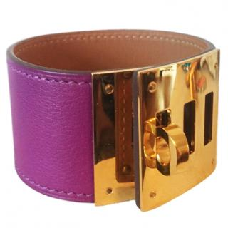 Hermes Anemone Kelly Dog Bracelet