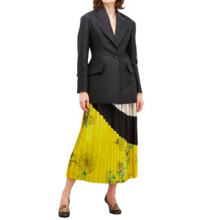 Proenza Schouler Single Breasted Fitted Blazer