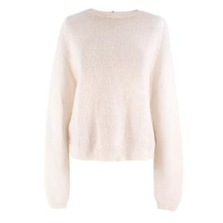 The Kooples Mohair blend Zip Back Knit Sweater
