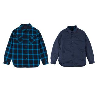 Stella McCartney Boys 10Y Reversible Blue Jacket