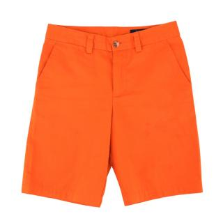 Polo Ralph Lauren Boys 12Y Cotton Orange Shorts