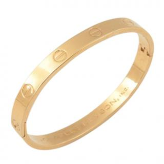 Charles Revson Vintage Electroplate Love Bangle