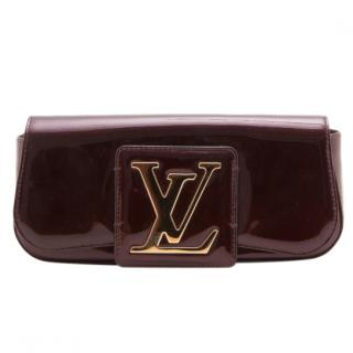 Louis Vuitton Vernis Amarante Sobe Clutch