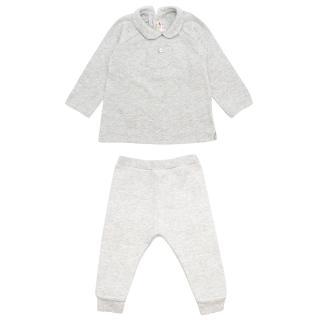 Bonpoint Children's 6m Two-piece Grey Set