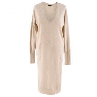 Joseph Nude Cashmere Knit Sweater Dress