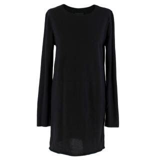 Zadig & Voltaire Black Merino Wool Tunic