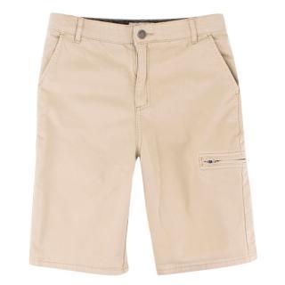 Stella McCartney Children's Beige Cargo Shorts