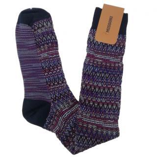 Missoni men's cotton blend socks