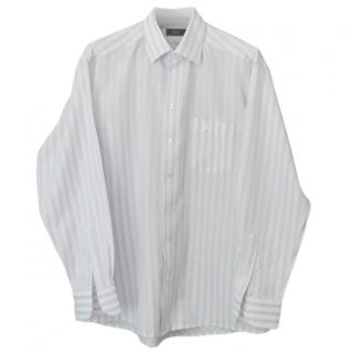 Eton Men's Lilac Striped Shirt
