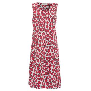 Maison Rabih Kayrouz Pomegranate Print Midi Dress